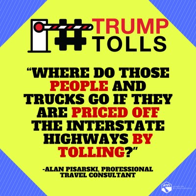 Tolls on Interstate Highways